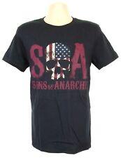Sons of Anarchy T-Shirt Mens Medium Skull & Flag