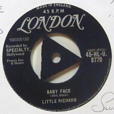 """Little Richard (7"""" Vinyl 1958 1st Issue)Baby Face-London-HLU 8770-UK-Ex/Ex"""