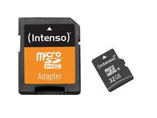 MicroSDHC Card, 32 GB, CLASS 4, INTENSO microSDHC Speicherkarte, 32GB INTENSO,
