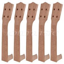 5pcs Okoume Wood 23 inch Concert Ukulele Neck Ukulele Luthier DIY Part