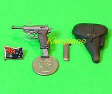 P38 1:6 Scale Action Figure DRAGON WW2 GERMAN WALTHER P38 HOLSTER PISTOL GUN
