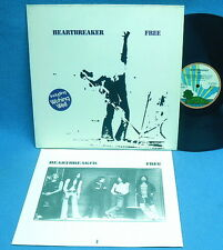 LP FREE - HEARTBREAKER // GERMANY 1st PRESS INCL.INSERT