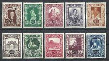 Austria #B208-217 SemiPostal Set (Mint HINGED) cv$4.50