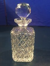 Lead Crystal Decanter and Matching Stopper CESKA?