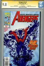 Avengers Vol 3 3 CGC 9.8 SS X2 Stan Lee Perez Busiek Vision Highest on census