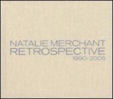 NATALIE MERCHANT Retrospective 1990-2005 DELUXE ED 2 CD Remast RARE OOP