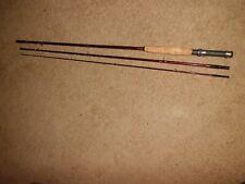 Vintage Heddon Pal DeLuxe 3 pc Fiberglass Fly Rod- USA