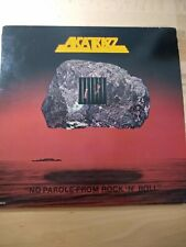 """Alcatrazz """"No Parole from Rock 'N"""" Roll"""" Yngwie Malmsteen LP 1984"""