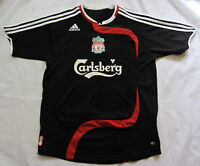 FC LIVERPOOL away jersey shirt ADIDAS 2007-2008 The Reds SIZE XL.Boys (S adults)