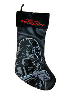 18 In Star War Darth Vader Black Christmas Stocking