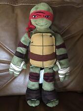 """Teenage Mutant Ninja Turtle Plush Raphael Toy TMNT Nickelodeon 17"""" Red Northwest"""