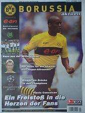 Programm 2003/04 Borussia Dortmund - VfL Wolfsburg