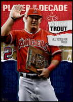 Mike Trout 2020 Topps Player of the Decade 5x7 Gold #MT-10 /10 Angels