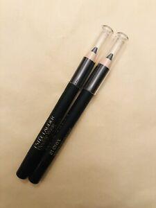 2X Estee Lauder Double Wear Stay-in-Place Eye Pencil # 01 ONYX Black~ 0.8g