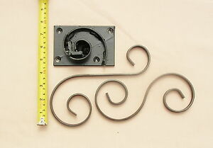 WROUGHT IRON SCROLL FORMER / BENDER  FOR SMALLER SCROLLS