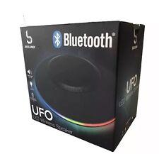 Bass Jaxx™ Bluetooth Wireless Black LED UFO Stereo Speaker