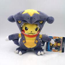 "Pikachu Cosplay Garchomp Pokemon Gaburia Suit Plush Toy Stuffed Animal Figure 8"""