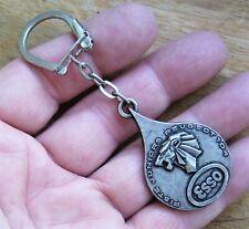 Ancien porte clé PEUGEOT métal Police Nationale 104 403 404 205 GTI 504 ESSO.A60