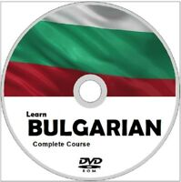 Learn to speak BULGARIAN COMPLETE LANGUAGE COURSE CD MP3 AUDIO PDF TEXTBOOKS