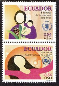 Ecuador Scott #1565 VF MNH 2001 International Women's Day