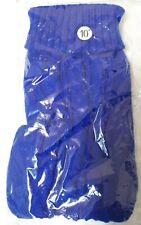 NEW XXS VERY SMALL BLUE DOG KNIT SWEATER JACKET NO HOOD BOY GIRL