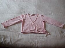 Girls Wrap Over Cardigan - Light Pink (George 7-8 Years)