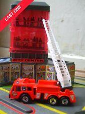 Matchbox naranja largo escalera de bomberos INTERCOMUNICADOR Ciudad Juguete Coche Camión hablar de códigos de barras