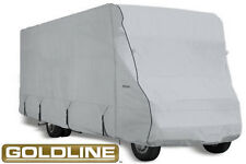 Goldline RV Trailer Class C Cover Fits 26 to 28 Foot Grey