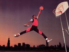 """63 Michael Jordan Slam Dunk Jump 19""""x14"""" Poster"""