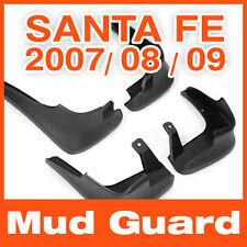 Genuine Parts Mud Guards Flaps Splash(4PCS) for Hyundai Santa Fe 2007 2008 2009