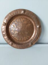 Arts & Crafts Copper Wall Charger  by Lombard, England.