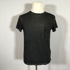 A&F Abercrombie & Fitch Men Short Sleeve T-shirt Size XS X-Small Gray Top - C96