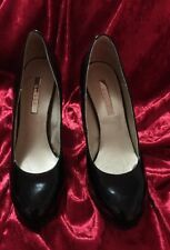AS NEW AUTHENTIC BeLLE CLASSICAL SERIES DESIGNER SHOES PUMPS BLACK PAID $200+