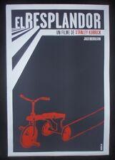 THE SHINING / Original Cuban Silkscreen Tribute Poster for Kubrick Movie / CUBA
