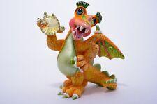Flirty - A Franklin Mint, Mood Dragon Sculpture, Limited Edition Figurine