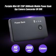 Mini HD 720P DVR Hidden SPY Camera Power Bank Motion Detection Video Recorder DV