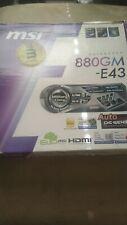 MSI 880GM-E43, Socket AM3, AMD Motherboard