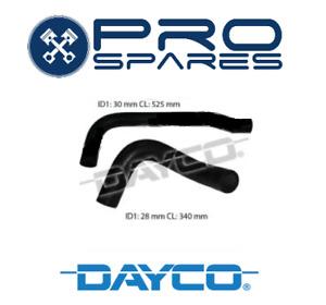 Dayco Radiator Hose Kit suits SUBARU BRUMBY LEONE MY DL GL EA81  DMH1321 DMH1322