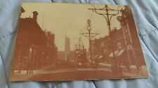 CHURCH STREET, WEST HARTLEPOOL. OLD PRINTED  POSTCARD