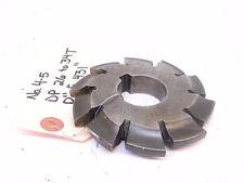 Used Brownampsharpe Involute Gear Cutter 4 5 Dp 26 34t Df 431 Hs Bore 1250