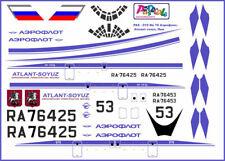 1/144 PAS-DECALS IL-76 Atlant-Soyuz, Aeroflot
