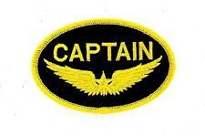 Toppe Patch toppa ricamate termoadesiva moto biker aviazione marina captain r2