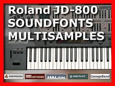 sample Roland JD 800 JD 990 soundfont sf2 samples cd JD800 for sonar kontakt etc