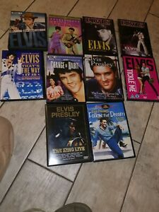Lot Dvd Elvis Presley Different Pays