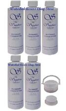 Blue Magic Sapphire Waterbed Conditioner Five 8oz bottles & Cap & Seal