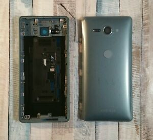 Original Sony Xperia XZ2 Compact H8314 H8324 GREEN Housing Back Cover Rear Cover