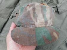 original US ARMY vietnam war IN COUNTRY MADE erdl brown JUNGLE HAT CAP
