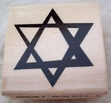 Rubber Stamp Star Of David Judaica Projects Crafts Note Cards Party Invites New