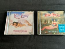 JOB LOT: Katy Perry x2 CD albums inc. Teenage Dream and One Of The Boys