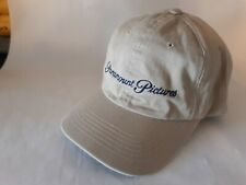 PARAMOUNT PICTURES STUDIO HAT TAN ADJUSTABLE NEW OLD STOCK